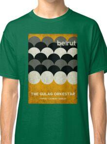 Beirut World Tour Poster Classic T-Shirt
