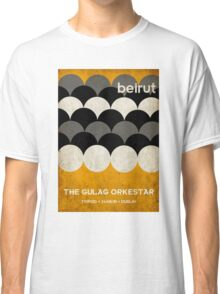 Beirut World Tour Poster Classic T-Shirt