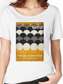 Beirut World Tour Poster Women's Relaxed Fit T-Shirt