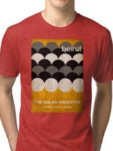 Beirut World Tour Poster Tri-blend T-Shirt