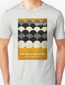 Beirut World Tour Poster T-Shirt