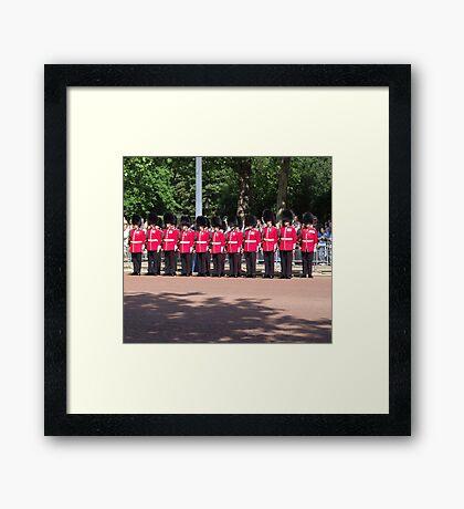 Royal Guards Framed Print