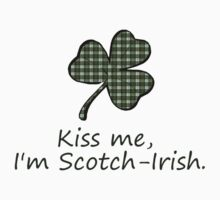 Kiss me, I'm Scotch-Irish Kids Clothes