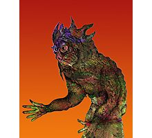 Pen Work Monster [natural colour] Photographic Print