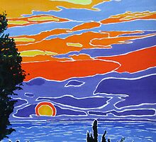 Spanish Sunrise by Dorothy ROWNTREE