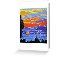 Spanish Sunrise Greeting Card