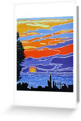 Spanish Sunrise by Dorothy ROWNTREE
