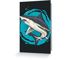 small shark  Greeting Card