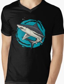 small shark  Mens V-Neck T-Shirt