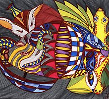 Fish by Dorothy ROWNTREE