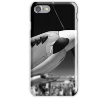 Spitfire Mk 1A aircraft iPhone Case/Skin