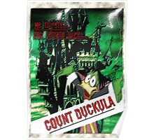 Duckula the B Movie Poster
