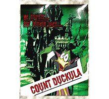 Duckula the B Movie Photographic Print