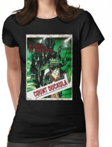 Duckula the B Movie Womens Fitted T-Shirt