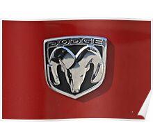 Dodge logo Poster
