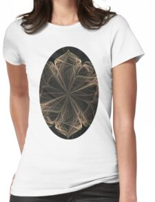 Ornate Blossom Womens Fitted T-Shirt