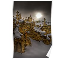 Fantasy Canyon HDR 2 Poster