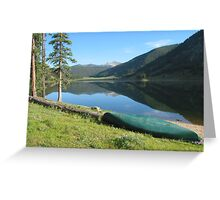 Spring Creek Reservoir, Colorado Greeting Card