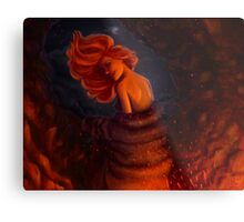 Kissed by fire - Ygritte Metal Print