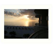 Western Sun - Marco Island, Florida Art Print