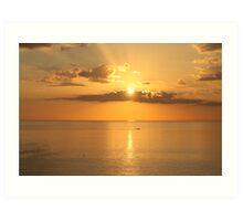 Late Sun - Marco Island, Florida Art Print