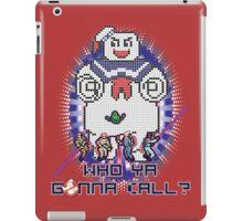 Who Ya Gonna Call? iPad Case/Skin