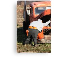 Mr. Pumpkin Butt Canvas Print