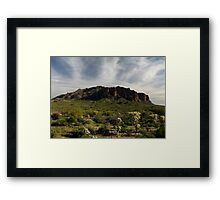 Superstition Mountain ~ Apache Trail, Arizona Framed Print