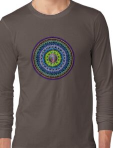 The magical eye mandala Long Sleeve T-Shirt