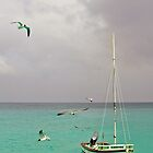 Anguilla fishing boat by Leon Heyns