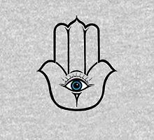 Simple Modern Hamsa Hand of Fatima Unisex T-Shirt