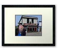 Red Onion Saloon Skagway Framed Print