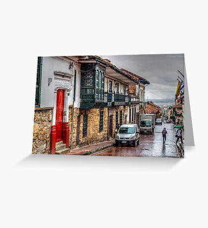 La Candelaria - Bogota Greeting Card