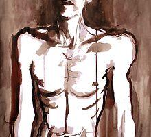 ballad of a thin man by Loui  Jover
