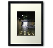 To the light, to the light! Framed Print