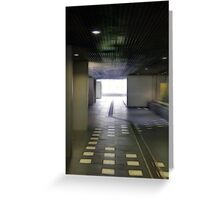To the light, to the light! Greeting Card