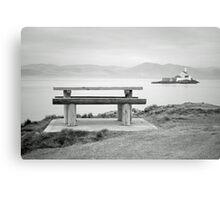 Fenit Lighthouse. Little Samphire Island. Kerry. Canvas Print
