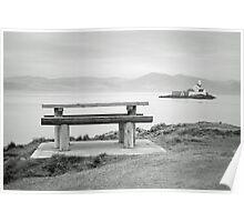 Fenit Lighthouse. Little Samphire Island. Kerry. Poster