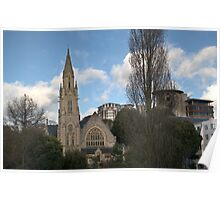 Richmond Hill St. Andrews Church Skyline Poster