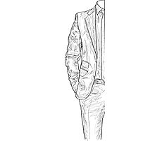 Suit&Tie Photographic Print