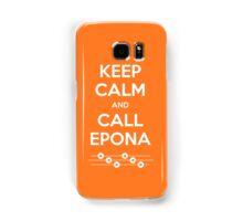 Keep Calm and Call Epona Samsung Galaxy Case/Skin