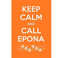 Keep Calm and Call Epona Photographic Print