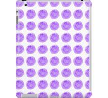 Pretty Purple Watercolor Polka Dots iPad Case/Skin