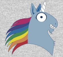 Silly unicorn, rainbow edition One Piece - Long Sleeve