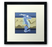 Silly Beasty : Ryu Framed Print