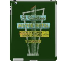 Vintage Motel Sign - El Camino iPad Case/Skin