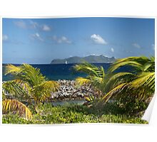 Palm Saturday ~ Sandy Island, Carriacou Poster