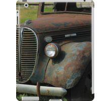 Front of a Vintage Truck iPad Case/Skin