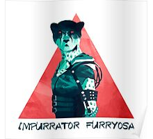 Impurrator Furryosa - Furry Road Poster