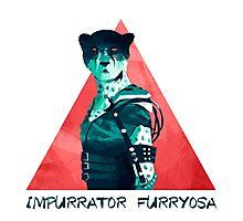 Impurrator Furryosa - Furry Road Photographic Print